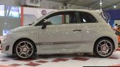 Fiat Abarth 595 Competizione side at Autocar Performance Show 2014