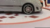 Fiat Abarth 595 Competizione wheel at Autocar Performance Show 2014