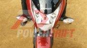 Honda CB Unicorn 160 snapped during TVC shoot front