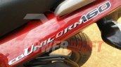 Honda CB Unicorn 160 snapped during TVC shoot tailpiece