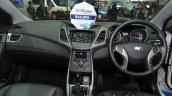 Hyundai Elantra facelift dashboard at the 2014 Thailand International Motor Expo