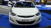 Hyundai Elantra facelift front at the 2014 Thailand International Motor Expo