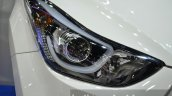 Hyundai Elantra facelift headlamp at the 2014 Thailand International Motor Expo