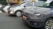 Hyundai Elite i20 Cross LED DRL Spied IAB
