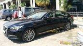 Hyundai Genesis front quarter spied India