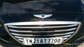 Hyundai Genesis grille spied India