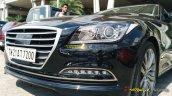 Hyundai Genesis headlight spied India