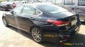 Hyundai Genesis rear quarters spied India