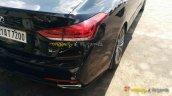 Hyundai Genesis taillight spied India