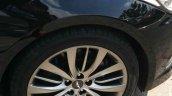 Hyundai Genesis wheel spied India
