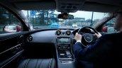 JLR Follow Me Ghost Car Navigation HUD windscreen