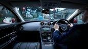JLR Follow Me Ghost Car Navigation concept