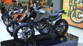 KTM Duke 200 Custom front left three quarters at 2014 Thailand International Motor Expo