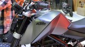 KTM Duke 200 Custom tank extensions at 2014 Thailand International Motor Expo