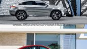 Mercedes Concept Coupe Vs Mercedes GLE Coupe side
