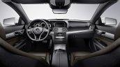 Mercedes E Class Cabriolet interior press shot
