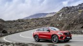 Mercedes GLE Coupe press shot cornering