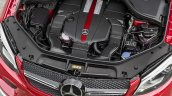 Mercedes GLE Coupe press shot engine bay