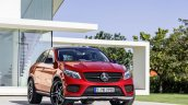 Mercedes GLE Coupe press shot front left three quarter