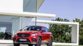 Mercedes GLE Coupe press shot front three quarter left