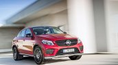 Mercedes GLE Coupe press shot front three quarter