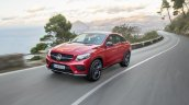 Mercedes GLE Coupe press shot in motion