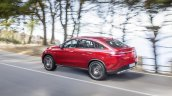 Mercedes GLE Coupe press shot rear left three quarter