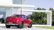 Mercedes GLE Coupe press shot rear three quarter