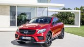 Mercedes GLE Coupe press shot red
