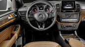 Mercedes GLE Coupe press shot steering wheel