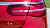 Mercedes GLE Coupe press shot taillight