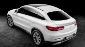 Mercedes GLE Coupe press shot white rear three quarter