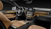 Mercedes GLE Coupe press shot wooden trim