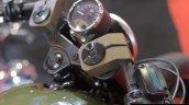 Motomiu Katungo Uno (custom Harley Davidson Street 750) handlebar at Autocar Performance Show 2014