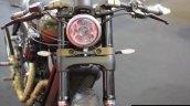 Motomiu Katungo Uno (custom Harley Davidson Street 750) headlamp at Autocar Performance Show 2014