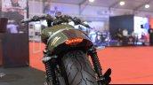 Motomiu Katungo Uno (custom Harley Davidson Street 750) taillamp at Autocar Performance Show 2014
