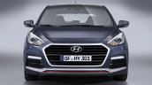 New Hyundai i30 Turbo front
