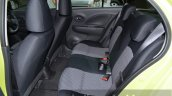 Nissan March Limited Edition rear seat at the 2014 Thailand Motor Expo