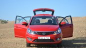 Tata Bolt 1.2T doors open front Review