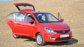 Tata Bolt 1.2T doors open side Review