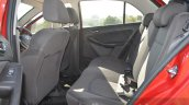 Tata Bolt 1.2T rear seat Review