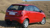 Tata Bolt 1.2T rear three quarters Review