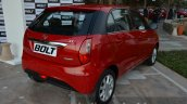 Tata Bolt rear right three quarter