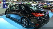 Toyota Corolla Altis ES Sport rear quarter at 2014 Thailand Motor Expo