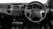 Toyota Fortuner Epic Edition dashboard
