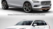 Volvo XC Coupe Concept Vs 2015 Volvo XC90