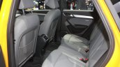 2015 Audi Q3 Facelift rear seat at the 2015 Detroit Auto Show