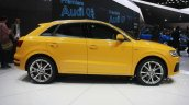 2015 Audi Q3 Facelift side at the 2015 Detroit Auto Show