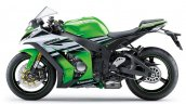 2015 Kawasaki Ninja ZX 10R 30th Anniversary Edition side green