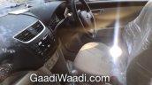 2015 Maruti Dzire (Facelift) brown dashboard dealership yard